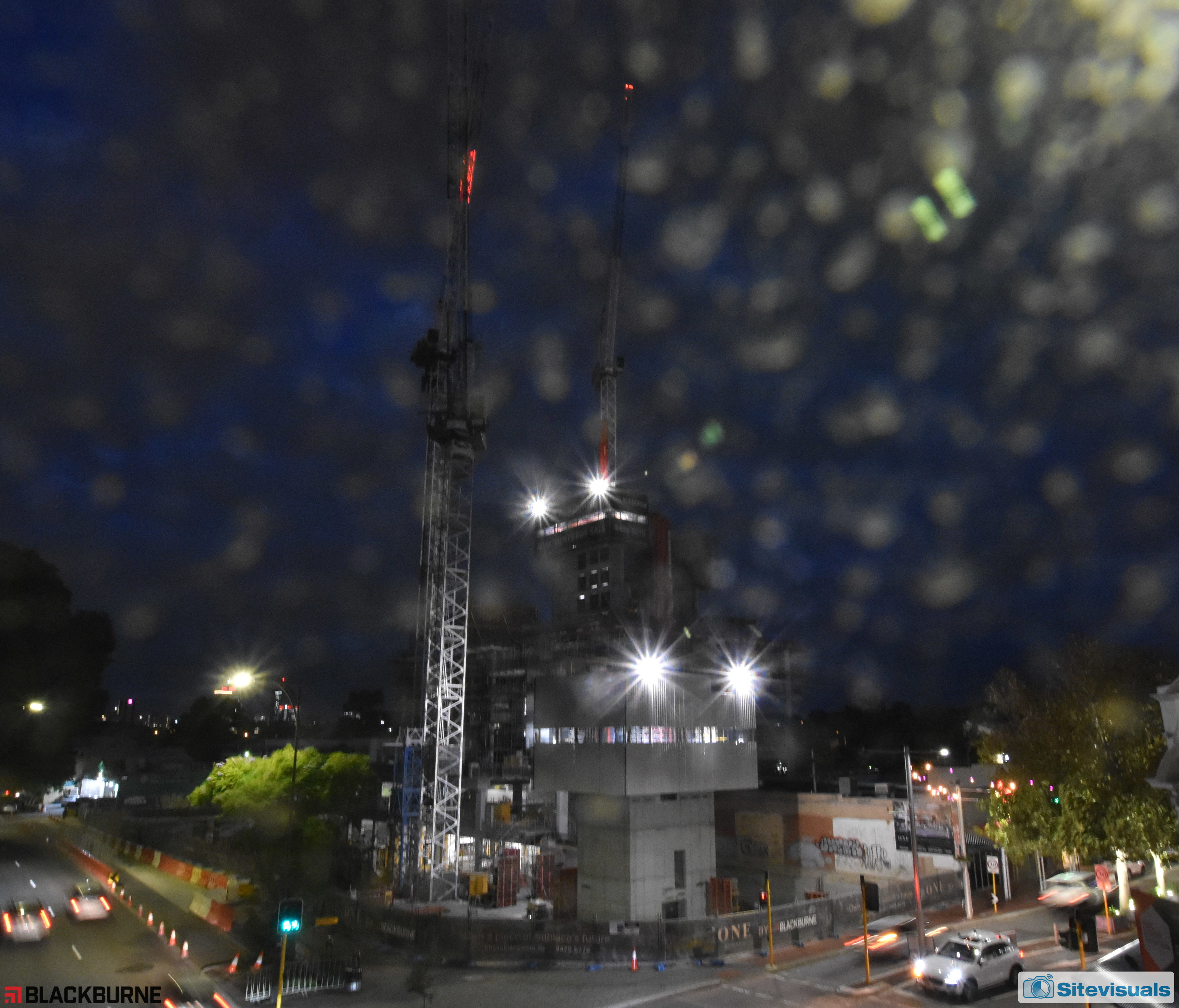 Subiaco One, Roberts Rd view, 12-May-2021 6:00 pm